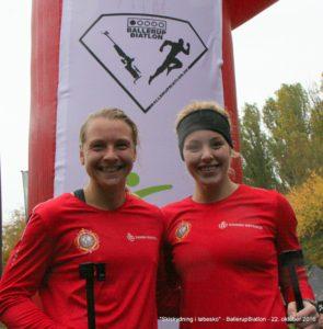 Sarah og Johanne blev nr. 2 og 1 til Skiskydning i Løbesko