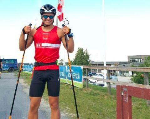 Mads Berthelsen var ene dansker til Rulleski-VM 2017