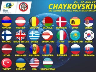 26 lande er tilmeldt VM i skiskydning på rulleski 2017
