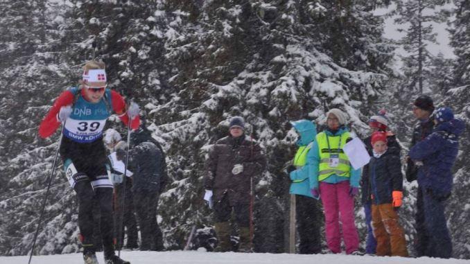 Skiskydning med Anders Emil Schiellerup på vej på Sjusjøen i sæsonstarten 2017