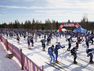 Langrendsløbet Yla-Levi 2018 er netop startet