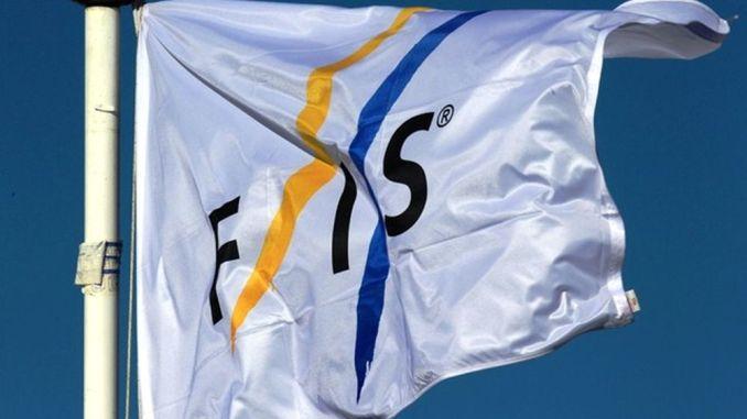 Det internationale skiforbund (FIS) flag