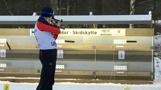 Peter George til skiskydning i Nässjö 2018