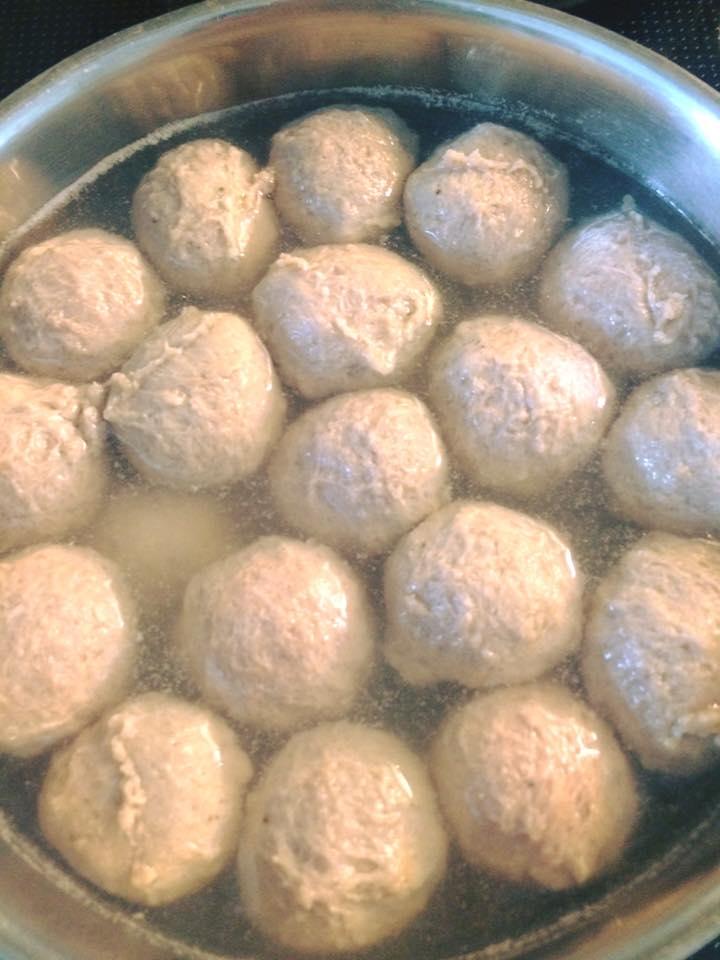 Resep Bakso Daging Sapi : resep, bakso, daging, Resep, Bakso, Andalan, Fanny, Jensen, Langsungenak.com