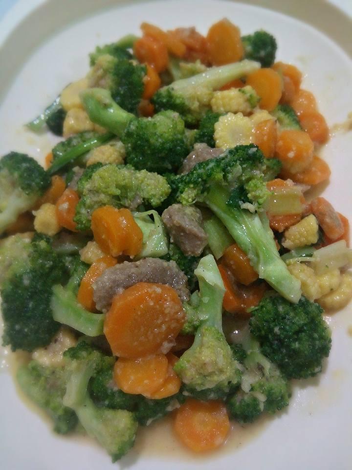 Resep Masak Capcay Sayur : resep, masak, capcay, sayur, Capcay, Brokoli, Aliyyah, Langsungenak.com