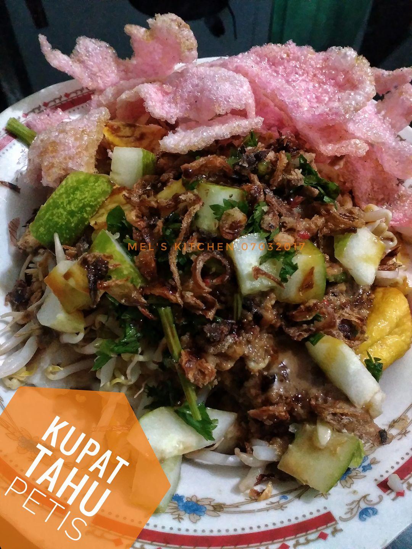 Kupat Tahu Bandung : kupat, bandung, Kupat, Petis, Melany, Sam's, Langsungenak.com