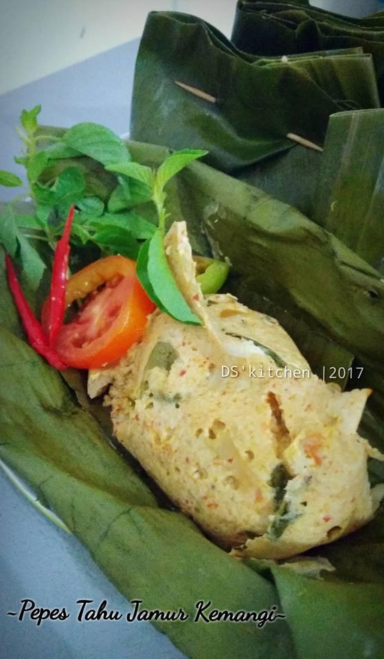 Resep Pepes Tahu Kemangi : resep, pepes, kemangi, Pepes, Jamur, Kemangi, Dinda, Rizky, Langsungenak.com