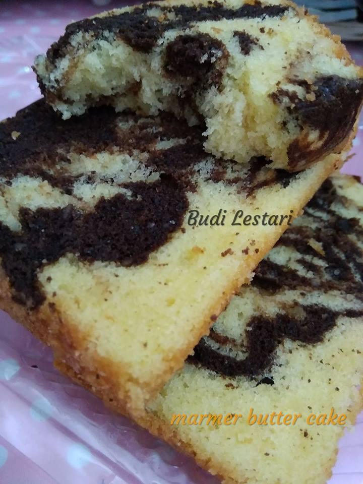 Resep Marmer Cake : resep, marmer, Marmer, Butter, Lestari, Langsungenak.com