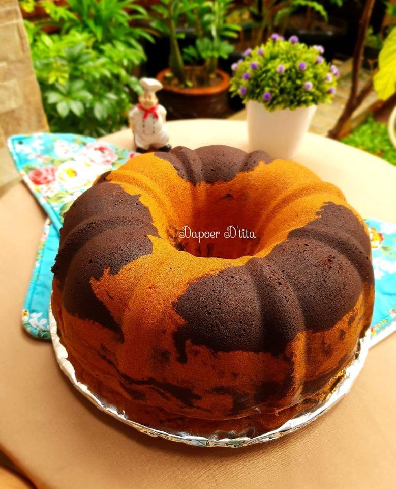 Resep Marmer Cake : resep, marmer, Marmer, Prihatini, Langsungenak.com