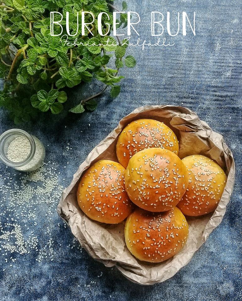 Cara Membuat Roti Burger : membuat, burger, Burger, (Roti, Burger), Febrianti, Zulfadli, Langsungenak.com