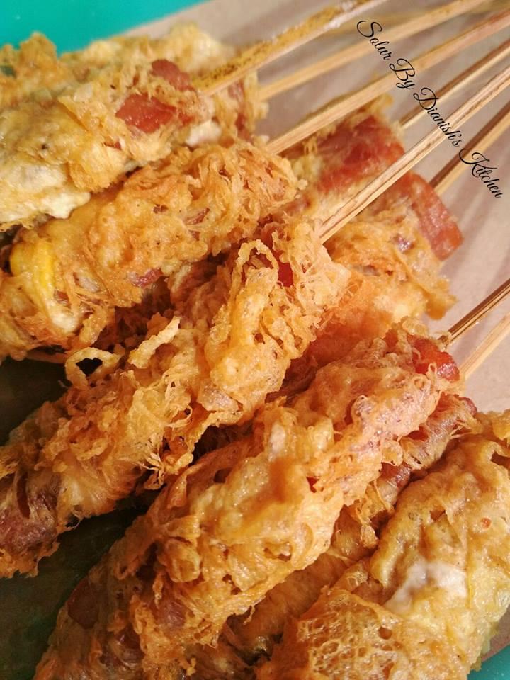 Resep Olahan Sosis : resep, olahan, sosis, Sosis, Gulung, Telur, Dianish's, Kitchen, Langsungenak.com