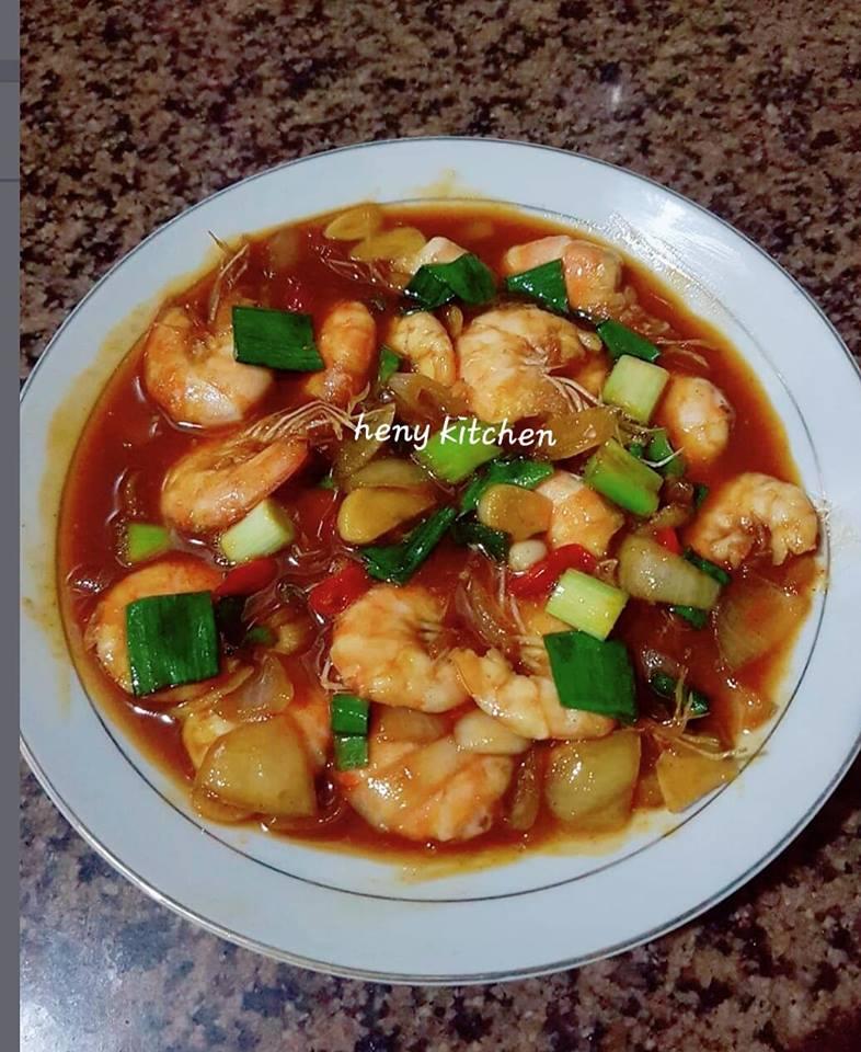 Resep Masak Udang Saus Tiram : resep, masak, udang, tiram, Udang, Tiram, Suliasih, Langsungenak.com
