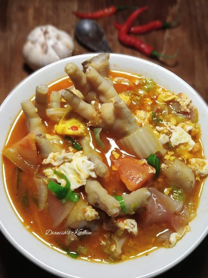 Bahan Seblak Kuah : bahan, seblak, SEBLAK, CEKER, Dianish's, Kitchen, Langsungenak.com
