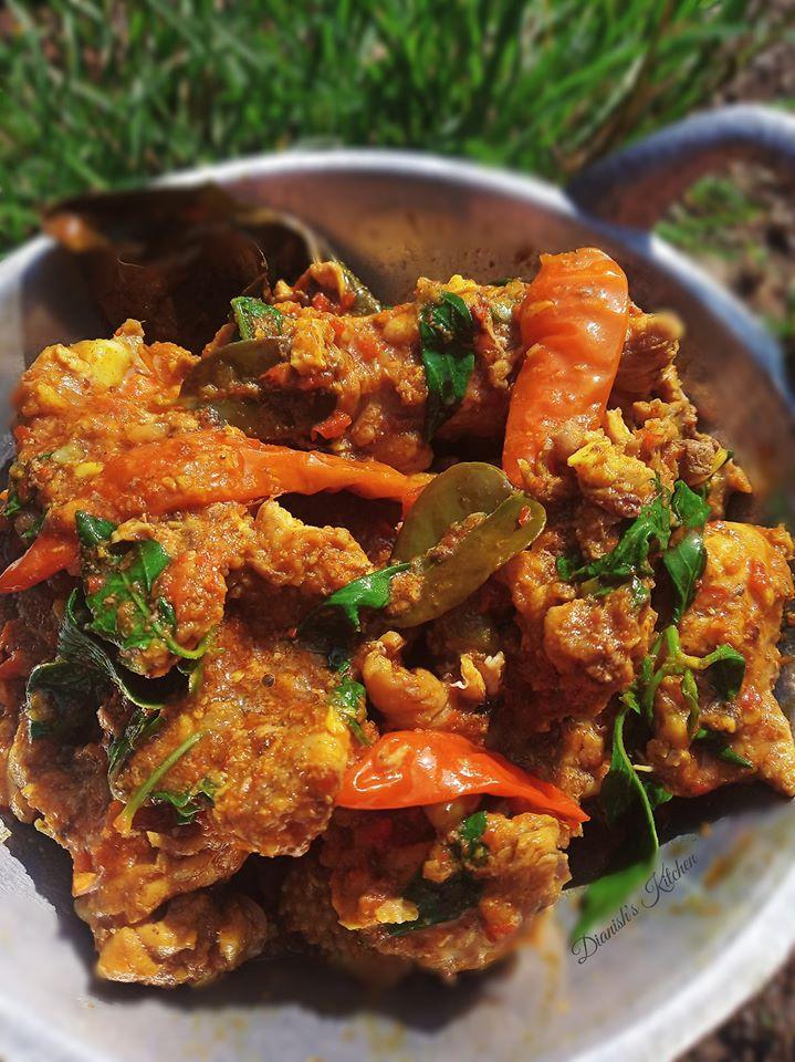 Resep Ayam Kemangi Pedas : resep, kemangi, pedas, PEDESAN, TULANG, KEMANGI, Dianish's, Kitchen
