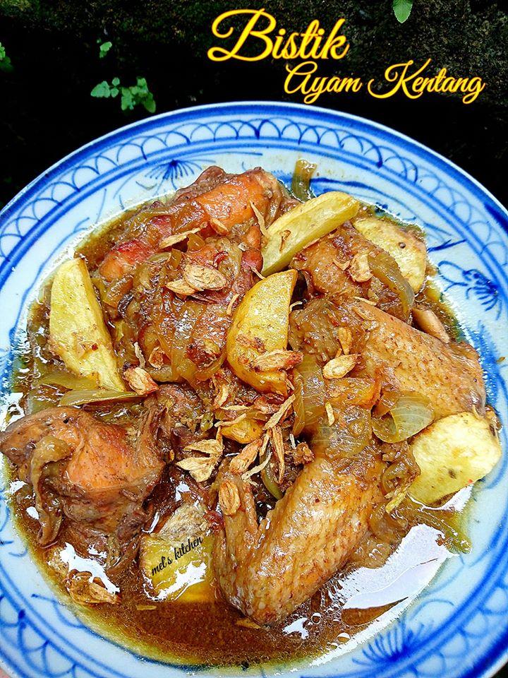 Bumbu Bistik Daging Ayam : bumbu, bistik, daging, BISTIK, KENTANG, Melany, Sam's, Langsungenak.com