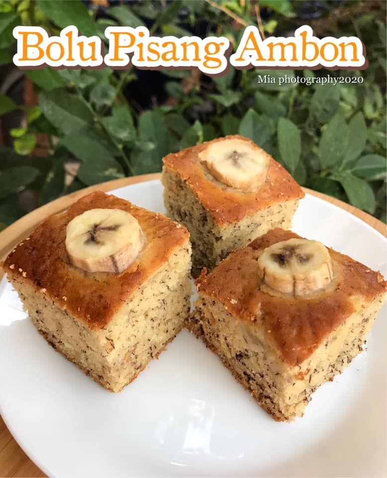 Resep Kue Bolu Pisang : resep, pisang, PISANG, AMBON, Sakur, Langsungenak.com