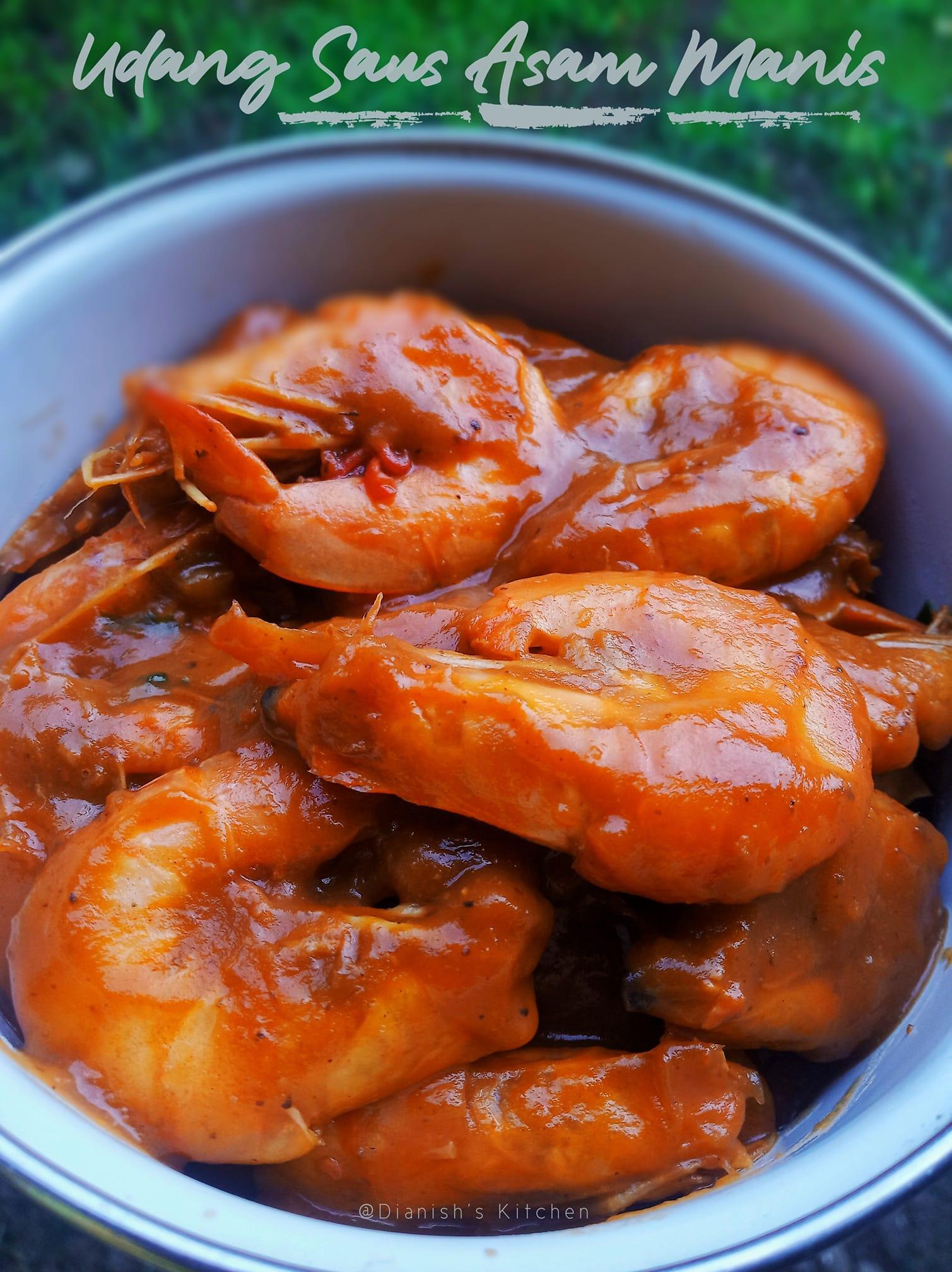 Bumbu Asam Manis Udang : bumbu, manis, udang, SWEET, SAFETY, SHRIMP, Recipe, Dianish's, Kitchen