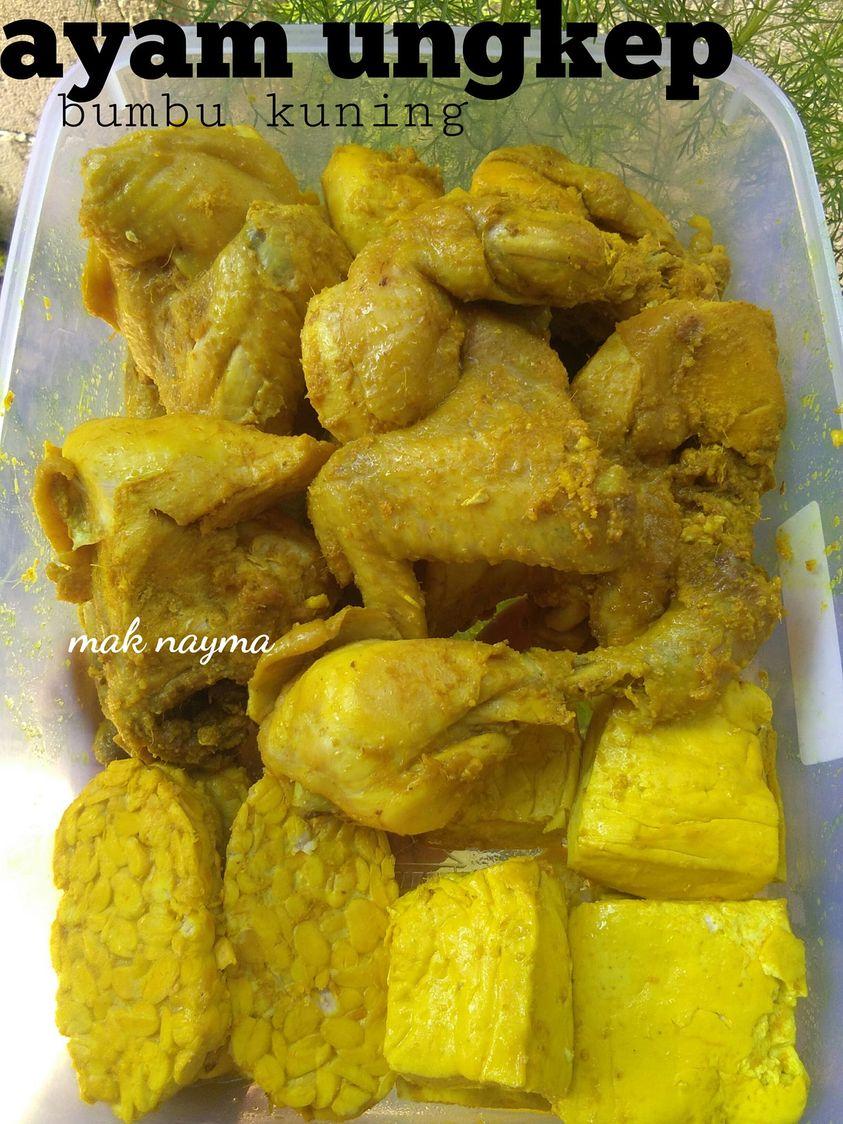 Resep Ungkep Bumbu Kuning : resep, ungkep, bumbu, kuning, Resep, UNGKEP, BUMBU, KUNING, Nayma, Nadhira, Langsungenak.com