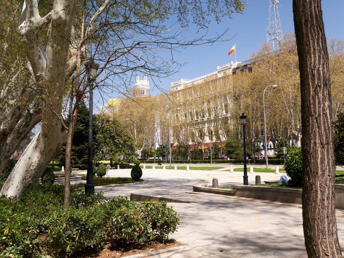 Пасео дель Прадо, Мадрид