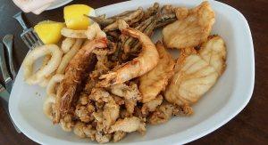 Типичная морская кухня