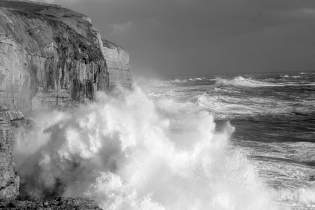 Storm at Dancing Ledge