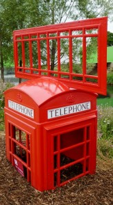 Red Telephone Box - Contact Langtree Team Ministry