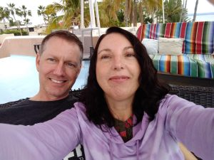 Me and my husband, Matthew in La Paz, Baja California Sur, Mexico