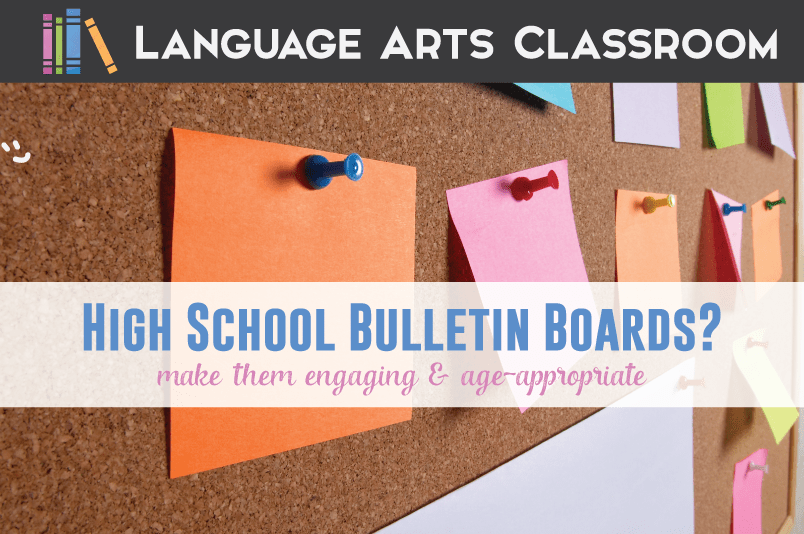 Bulletin Boards for High School Students