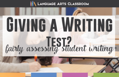 Ways to Include Writing on a Language Arts Test