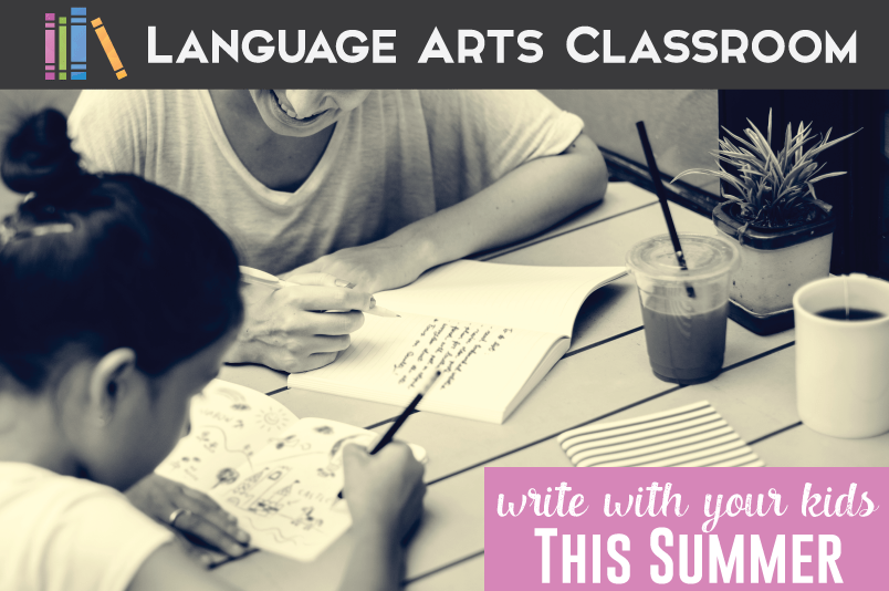 Writing Activities for Kids this Summer