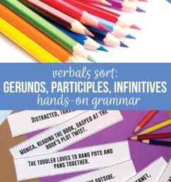Verbals Lessons: Grammar Sorts [ 1102 x 735 Pixel ]