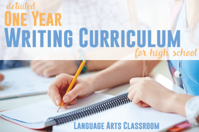 Writing Curriculum for High School