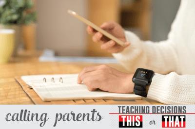 How To Make A Parent Phone Call