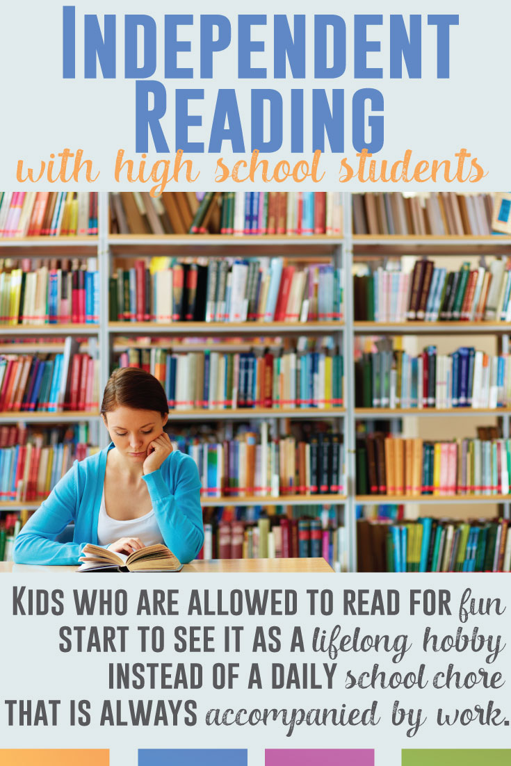 Reading with high school students - the tricks and the methods for helping secondary students succeed with reading.
