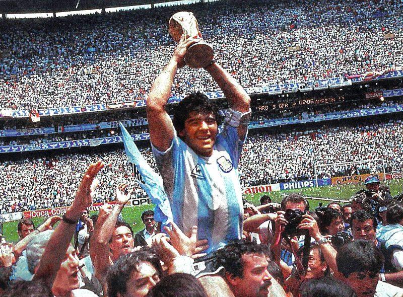 Week 4: Main Report – World Cup Stars – Maradona