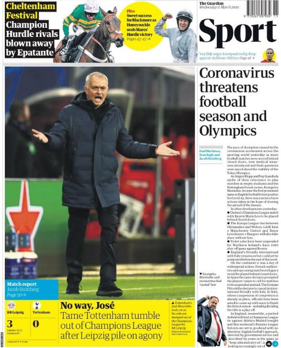 Newspaper Headlines: No way, José