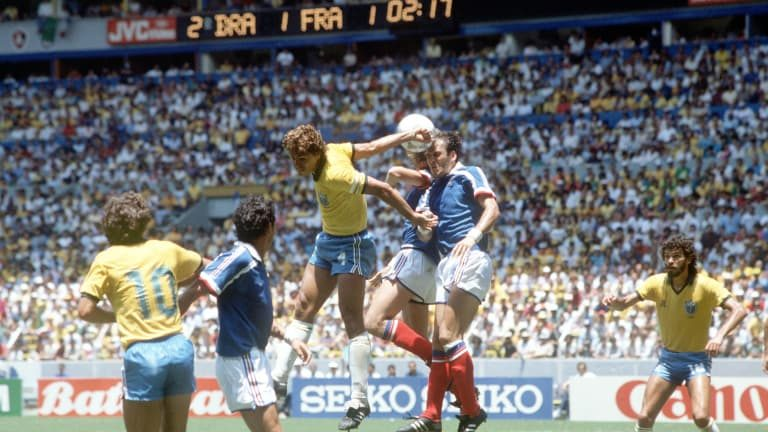 Football Language Podcast: 1986 World Cup Quarter final – France vs Brazil