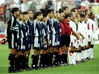 1998 World Cup - England vs Argentina