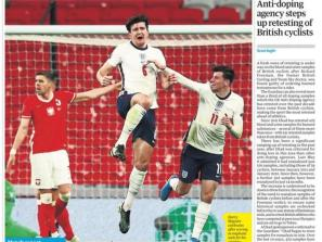 England 2-1 Poland