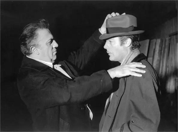 Mastroianni alter ego di Fellini