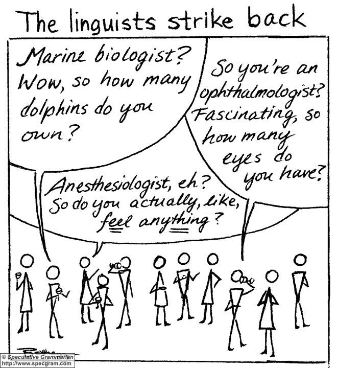 Language Log » Linguists strike back…