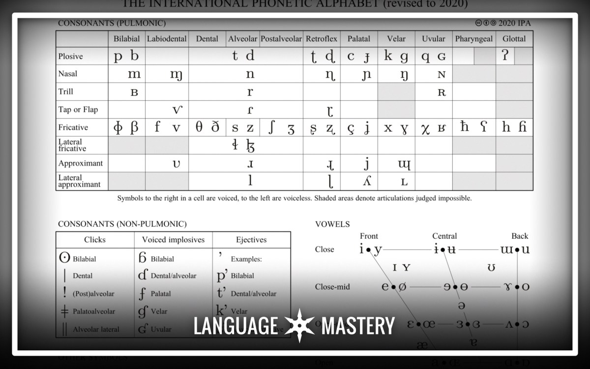 What Is The Ipa Why Should You Learn It Language Mastery