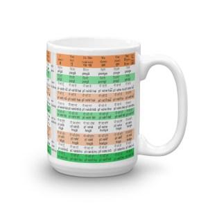 Hindi Mug