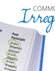 Irregilar verbs list also complete english irregular verb free pdf download rh languageonschools