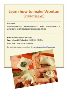 Learn how to make Wonton