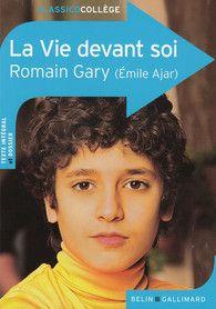 La Vie Devant Soi Romain Gary : devant, romain, Devant, Romain, Gallimard, Classico, Collège