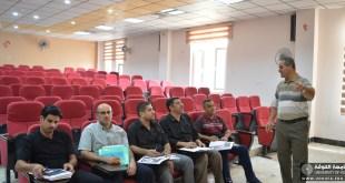 كلية اللغات تقيم دورة في تعليم أساسيات اللغة الفارسية