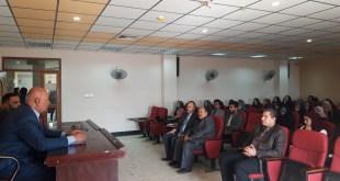 """قسم اللغة التركية في كلية اللغات يقيم ندوة بعنوان (الرسول محمد """"ص"""" في الأدب التركي )"""