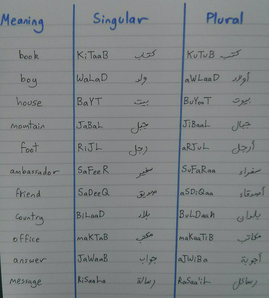 Arabic: Inflection and Perfect Imperfect