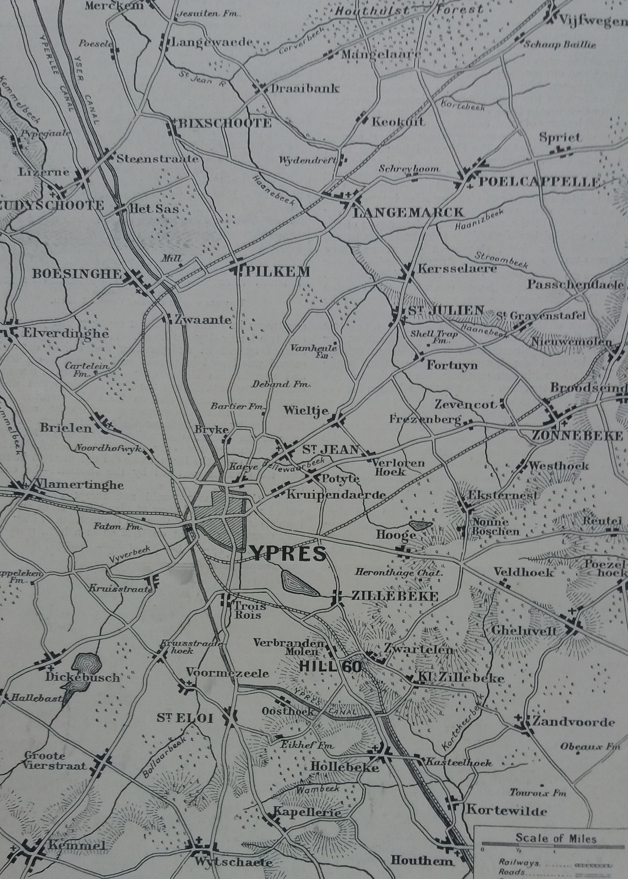 9th November, Flanders and Wales, a First World War